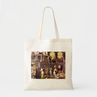 The wise and foolish virgins by Tintoretto Budget Tote Bag