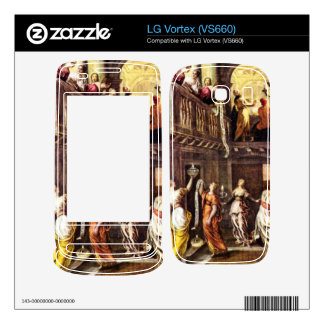 The wise and foolish virgins by Tintoretto LG Vortex Skins