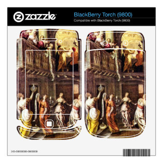 The wise and foolish virgins by Tintoretto BlackBerry Torch Decals