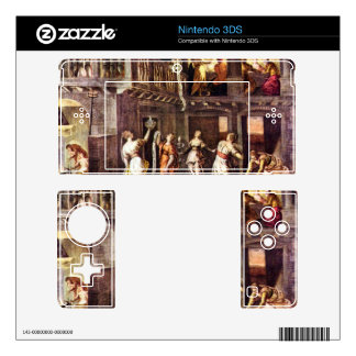 The wise and foolish virgins by Tintoretto Decals For 3DS