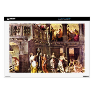 The wise and foolish virgins by Tintoretto Skin For Laptop