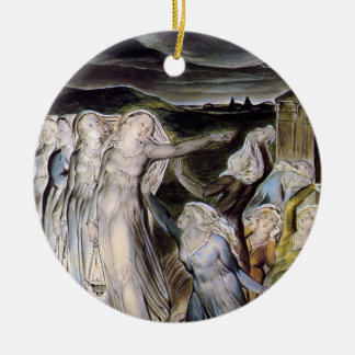The Wise and Foolish Virgins Christmas Tree Ornaments