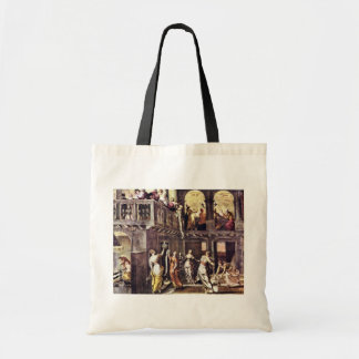 The Wise And The Foolish Virgins By Tintoretto Jac Tote Bags