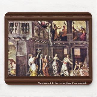 The Wise And The Foolish Virgins By Tintoretto Jac Mouse Pad
