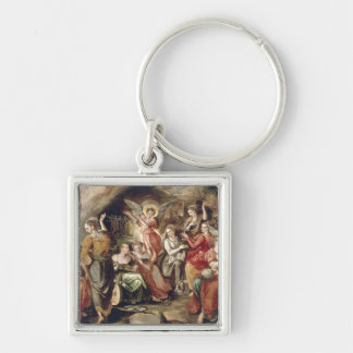 The Wise and the Foolish Virgins Keychain