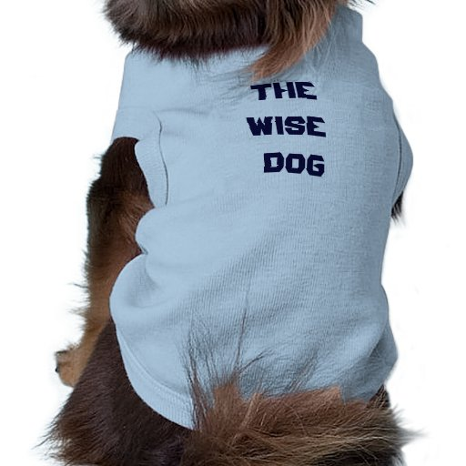 THE WISE DOG PASSOVER SEDER SHIRT PET CLOTHING