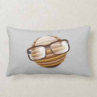 The Wise Guy - Choose your background color Pillow