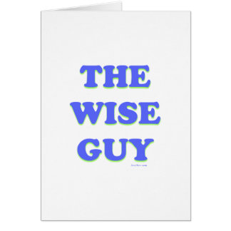 The Wise Guy Gift Card