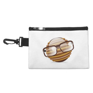 The Wise Guy - The Geek Smiley With Glasses Accessory Bag