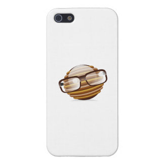The Wise Guy - The Geek Smiley With Glasses Case For iPhone SE/5/5s