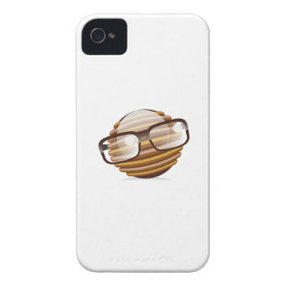 The Wise Guy - The Geek Smiley With Glasses Case-Mate iPhone 4 Case