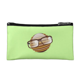 The Wise Guy - The Geek Smiley With Glasses Makeup Bag