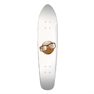 The Wise Guy - The Geek Smiley With Glasses Skateboard