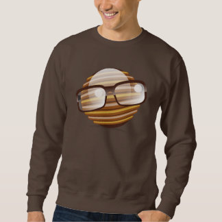 The Wise Guy - The Geek Smiley With Glasses Sweatshirt