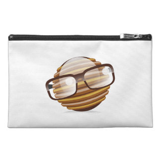 The Wise Guy - The Geek Smiley With Glasses Travel Accessory Bag