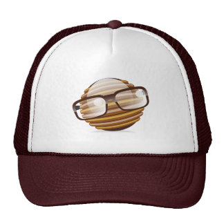 The Wise Guy - The Geek Smiley With Glasses Trucker Hat