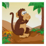 The wise monkeys speaking 1/3 poster