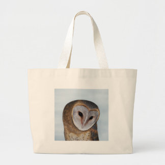 The wise old owl large tote bag