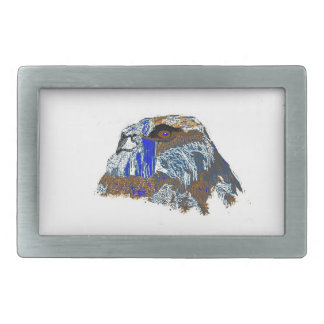 The Wise Old Owl Rectangular Belt Buckle