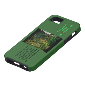The Wise Ole Owl Iphone5 Hardshell Case iPhone 5 Covers