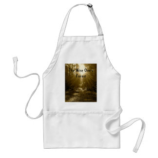 The Wise One's Forest Adult Apron