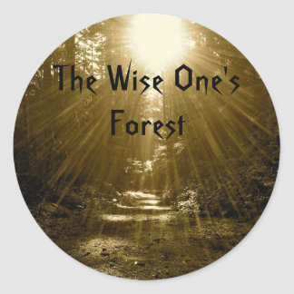 The Wise One's Forest Classic Round Sticker