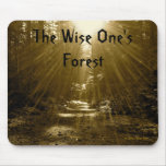 The Wise One's Forest Mouse Pad