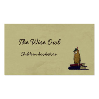 The Wise Owl Double-Sided Standard Business Cards (Pack Of 100)