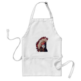 THE WISE PATH ADULT APRON
