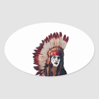 THE WISE PATH OVAL STICKER