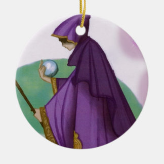 the Wise Woman Ceramic Ornament