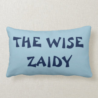 THE WISE ZAIDY PASSOVER  SEDER RECLINING PILLOW