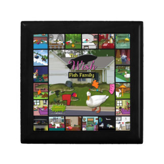 The Wish Fish Family Collage Gift Box