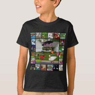 The Wish Fish Family Collage T-Shirt