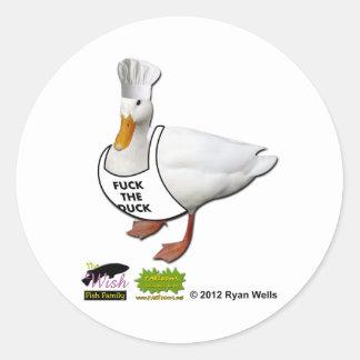 The Wish Fish Family - Duck Bill Sticker