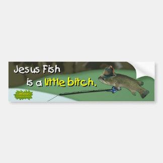 The Wish Fish Family - Harold Bumper Sticker Car Bumper Sticker
