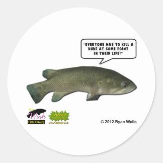 The Wish Fish Family - Harold Sticker