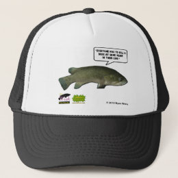The Wish Fish Family - Harold Trucker Hat