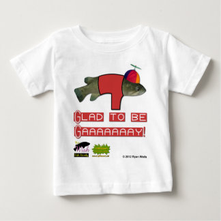 The Wish Fish Family - Junior - Glad to be Gay Baby T-Shirt