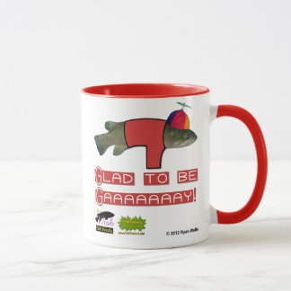 The Wish Fish Family - Junior - Glad to be Gay Mug