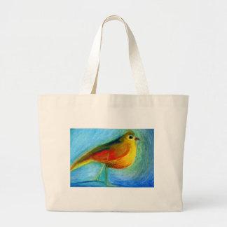 The Wishing Bird 2012 Large Tote Bag