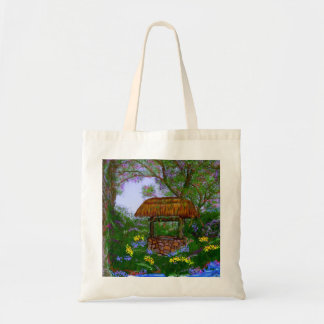The Wishing Well Canvas Bag