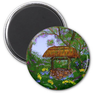 The Wishing Well Refrigerator Magnets