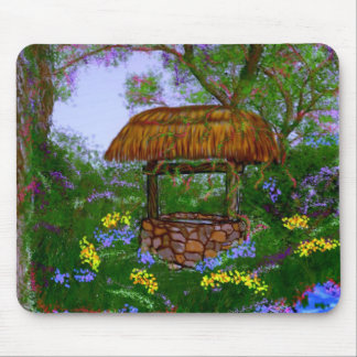 The Wishing Well Mouse Pad