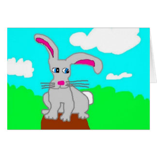 The Wistful Hare Card