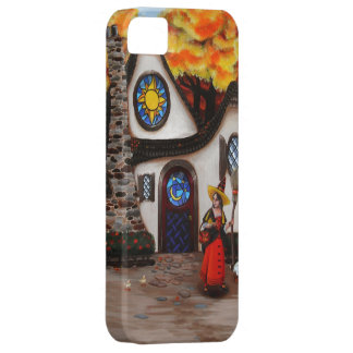 The Witch and her Geese iPhone SE/5/5s Case