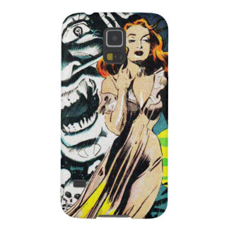 The Witch Doctors Spell - Vintage Comic Galaxy S5 Case