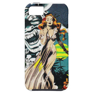The Witch Doctors Spell - Vintage Comic iPhone SE/5/5s Case