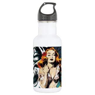 The Witch Doctors Spell - Vintage Comic Water Bottle