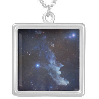 The Witch Head Nebula Square Pendant Necklace